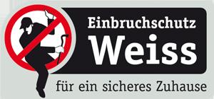 Einbruchschutz Weiss Logo